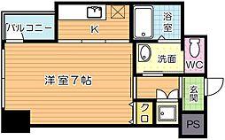 モナトリエ 小倉平和通り[6階]の間取り
