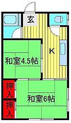 [一戸建] 千葉県流山市西松ヶ丘1丁目 の賃貸【/】の間取り