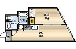 新大阪ステーションビル[4階]の間取り
