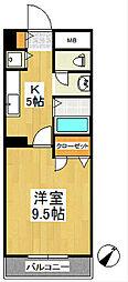 F・Gem[5階]の間取り
