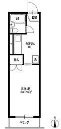 リーマスハウス[2階]の間取り