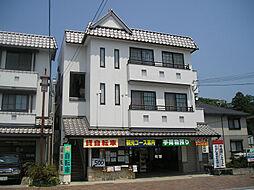 滋賀県近江八幡市安土町上豊浦の賃貸マンションの外観