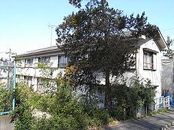フラワーハイツB[1階]の外観