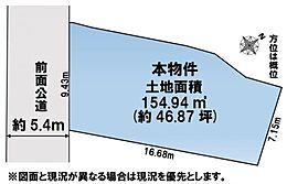 46坪超のボリュームを是非現地にてご確認ください。