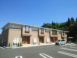 鹿児島県鹿児島市岡之原町の賃貸アパートの外観