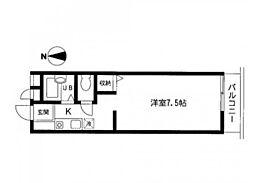 セティオ 1番館[2階]の間取り