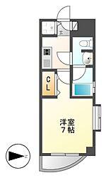 カレント新栄[6階]の間取り