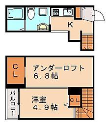 GECK桜が丘(ゲック)[2階]の間取り