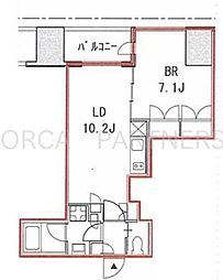 FORECAST西新宿[7階]の間取り