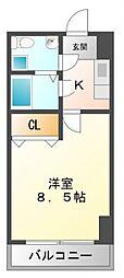 セレニテ江坂四番館[4階]の間取り