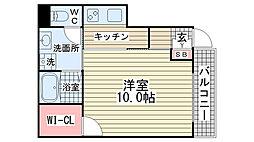 メゾン・オランジュ[101号室]の間取り