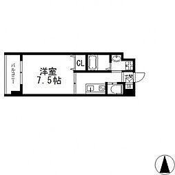 グランドゥーエ永和駅前[6階]の間取り