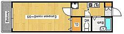 プロスパー野崎[3階]の間取り