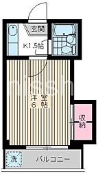 3477−グランドエステート[2階]の間取り
