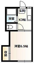 桜コーポA[108号室]の間取り
