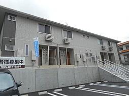 長崎県西彼杵郡長与町高田郷の賃貸アパートの外観