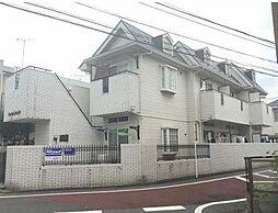 東京都豊島区千早3丁目の賃貸アパートの外観