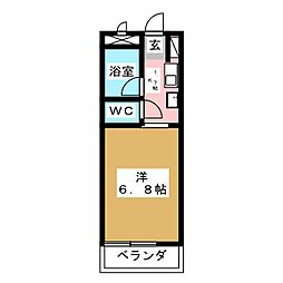 NONAMIハウス[4階]の間取り