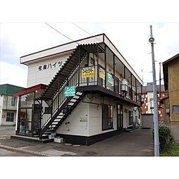北海道北見市南仲町2丁目の賃貸アパートの外観