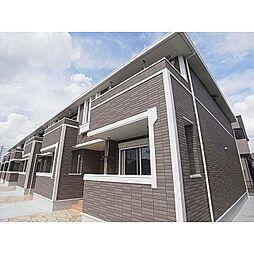 奈良県大和高田市有井の賃貸アパートの外観