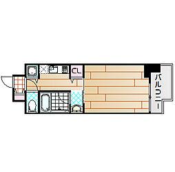 エイペックス梅田東2[9階]の間取り
