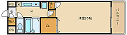 コゥジィコート[3階]の間取り