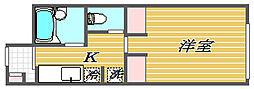 アヴェニール南馬込[1階]の間取り