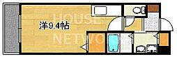 ジェンテカーサ[112号室号室]の間取り