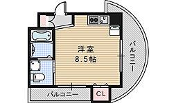 ルクレール鶴ヶ丘[902号室]の間取り