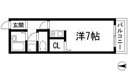 シャルム豊島[2階]の間取り