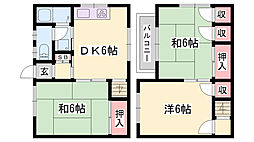 妻鹿駅 4.3万円
