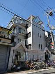 大阪府大阪市東住吉区田辺4丁目の賃貸マンションの外観