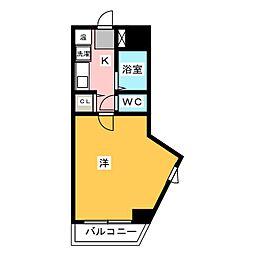 パンルネックスクリスタル箱崎[2階]の間取り