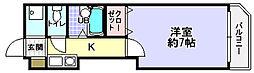 第1ハートビル[4階]の間取り