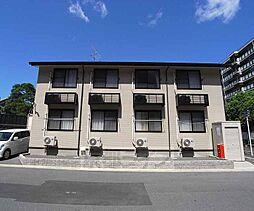 京都府京都市南区東九条西岩本町の賃貸アパートの外観