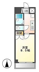ウェステリア西大須[5階]の間取り