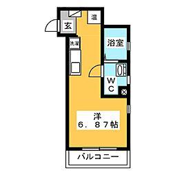 翔のいっしき I[1階]の間取り