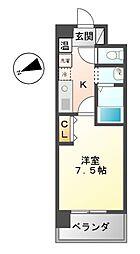 エーエスレジデンス千代田(AS[11階]の間取り