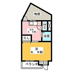 昭和マンション桜[1階]の間取り