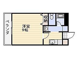 フィレンツェ22[6階]の間取り