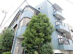 東京都目黒区柿の木坂2丁目の賃貸マンションの外観
