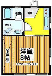 東京都杉並区和泉3の賃貸マンションの間取り