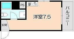 OAZO庄内西町[203号室]の間取り