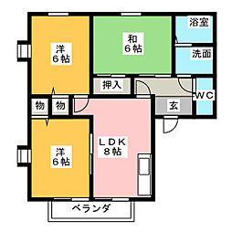 SENJUII[1階]の間取り