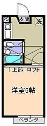 RARA東海大学前NO.21階Fの間取り画像