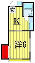 第二セラミックハウス[1階]の間取り