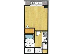 ジョイフル日野[1階]の間取り