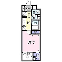 北野町マンション[0302号室]の間取り