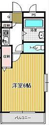 コンフォートマンション下町[4階]の間取り