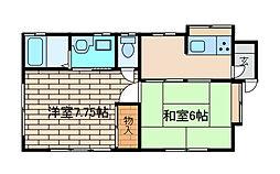 [一戸建] 神奈川県相模原市中央区由野台2丁目 の賃貸【神奈川県 / 相模原市中央区】の間取り